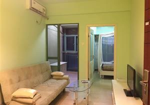 阳光绿地家园一房一厅 红本无税【靠山高绿化社区】