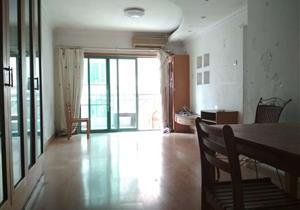 中海丽苑两房1厅 红本无税 客厅出阳台 南向