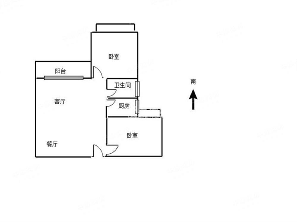 鸿翔花园二期-户型图