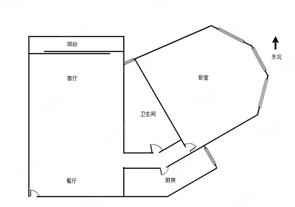 盐田南方明珠第二期-户型图