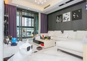 京基滨河时代超高层豪华装修三房看房方便红本在手业主诚心出售