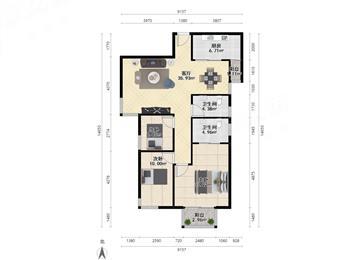 金色家园一期-户型图